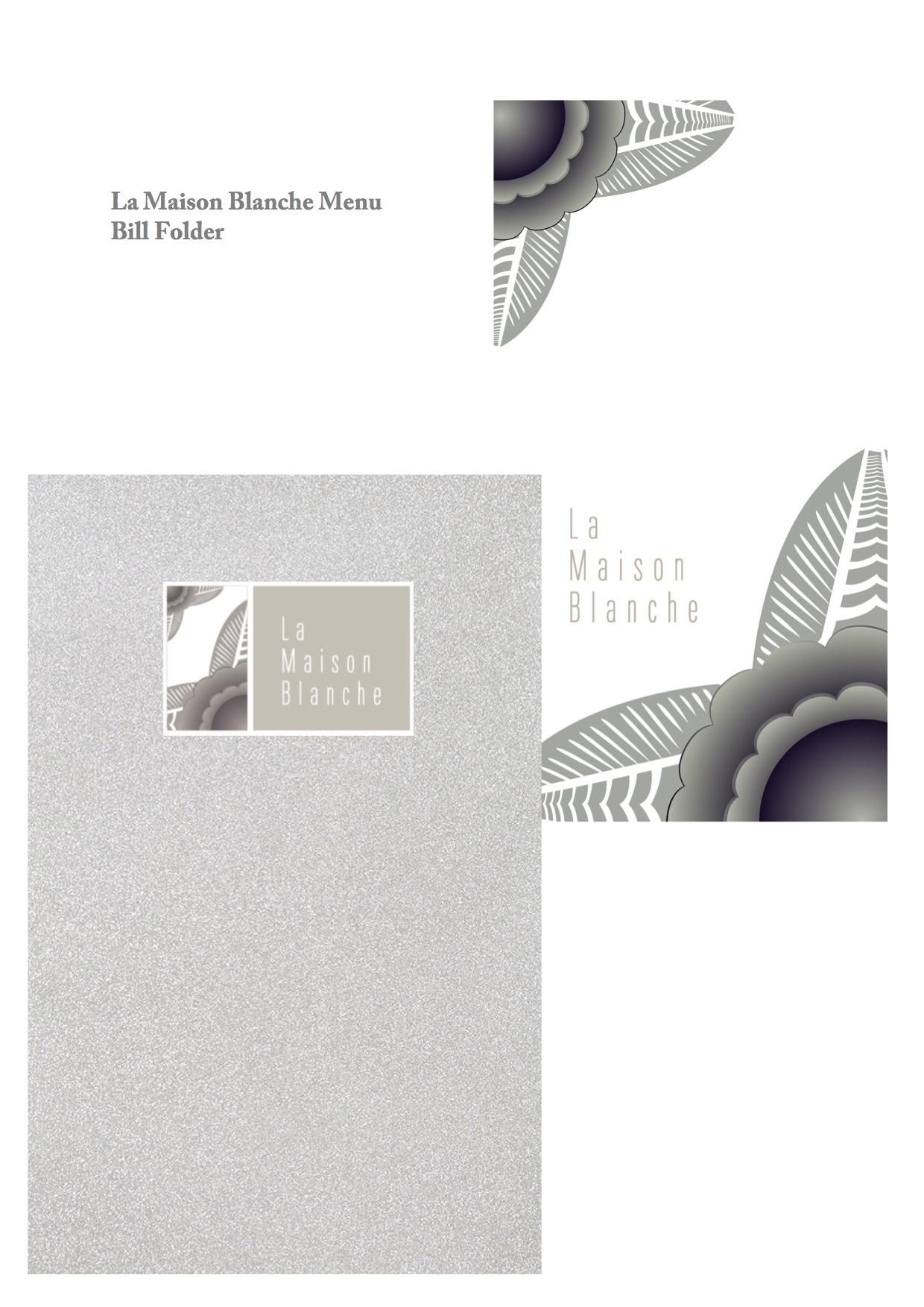 La Maison Blanche Branding 2
