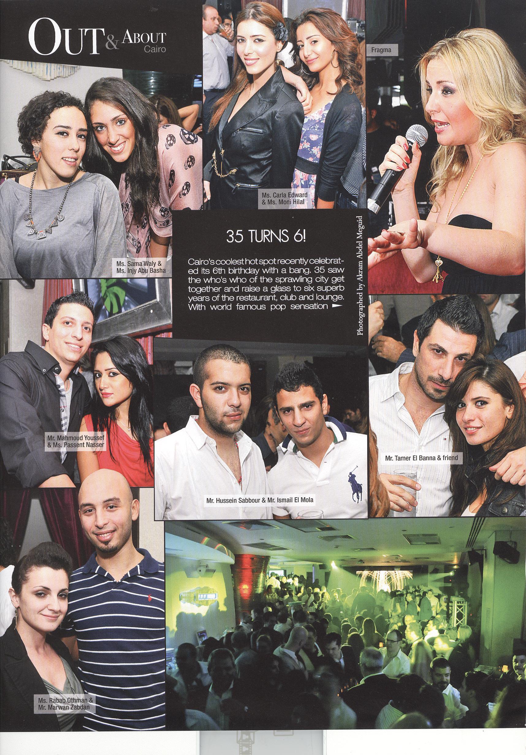 Club 35 in Engima mag 2