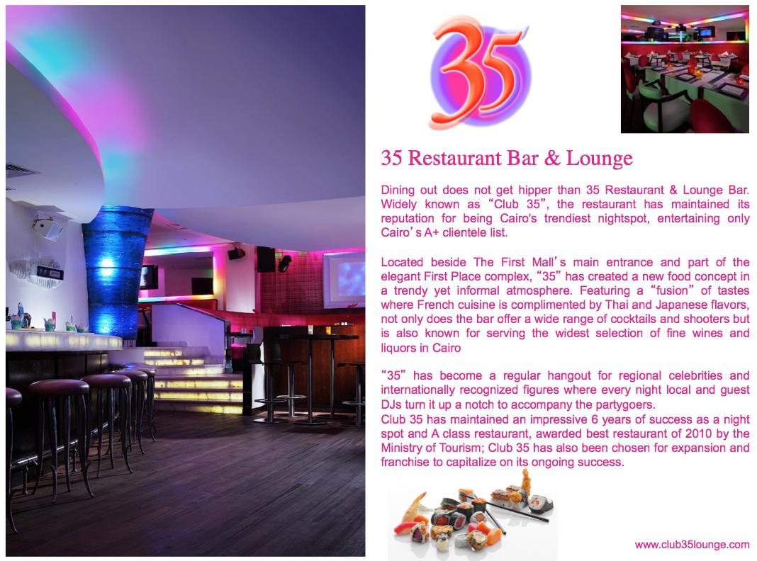 club 35 concept